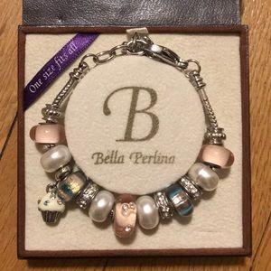 Bella Perlina Cupcake Charm Bracelet